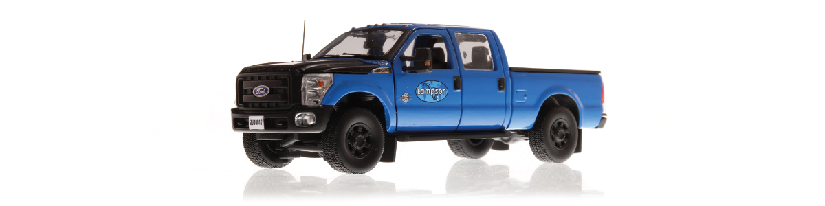 Order your Lampson Ford F-250 diecast scale model today!