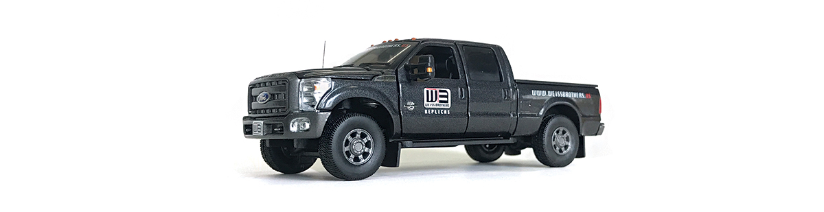 Order your Weiss Brothers Replicas Ford F-250 diecast scale model today!